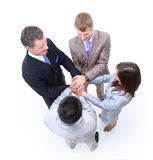 Grupp av affärskollegor Arkivbilder