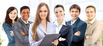 Grupp av affärsfolk Arkivbild