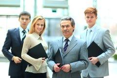 Grupp av affärsfolk Arkivfoton
