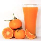 Grupp av apelsin och fruktsaft arkivbilder