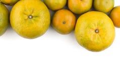 Grupp av apelsiner Fotografering för Bildbyråer