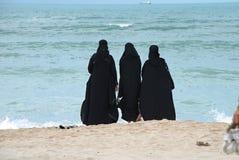 Grupp av arabiska kvinnor Fotografering för Bildbyråer