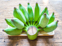 Grupp av bananen Royaltyfria Foton