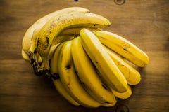 Grupp av bananer royaltyfria bilder