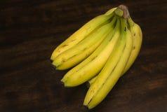 Grupp av bananer Arkivbilder