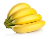 Grupp av bananer Arkivfoto