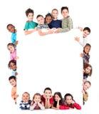 Grupp av barn Royaltyfri Foto
