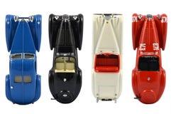 Grupp av bilmodeller Royaltyfri Fotografi