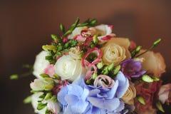 Grupp av blommor Arkivfoton