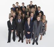 Grupp av Businesspeople royaltyfri bild