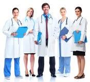 Grupp av den medicinska doktorn. Royaltyfri Fotografi