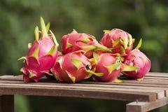 Grupp av Dragon Fruit Royaltyfria Foton