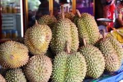 Grupp av durianen Royaltyfria Bilder