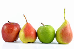 Grupp av fruite Arkivbilder