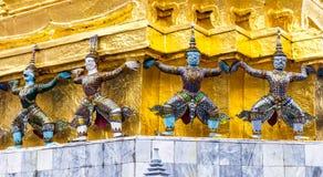 Grupp av fyra Dharma Protectors Royaltyfri Bild