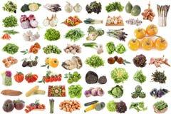 Grupp av grönsaker Royaltyfri Bild