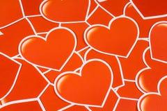 Grupp av hjärta Royaltyfria Bilder