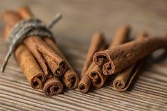 Grupp av kanelbruna Sticks Fotografering för Bildbyråer