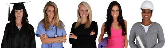 Grupp av kvinnor royaltyfria foton