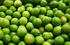Grupp av limefrukter Arkivfoton