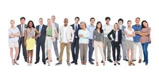 Grupp av Mång--person som tillhör en etnisk minoritet och olikt folk royaltyfri bild