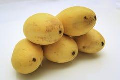 Grupp av mango arkivfoton