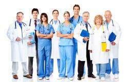Grupp av medicinska doktorer. Royaltyfria Foton