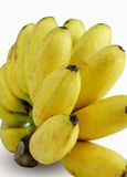 Grupp av mognade bananer Arkivbilder