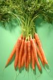 Grupp av morötter Royaltyfri Foto