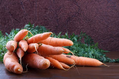 Grupp av morötter Royaltyfri Bild