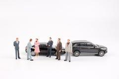 Grupp av mycket litet affärsfolk Royaltyfri Fotografi