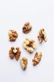 Grupp av Nutmeats Arkivfoton