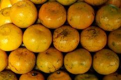 Grupp av ny apelsinbakgrund Arkivfoton