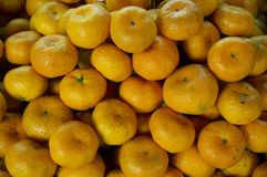 Grupp av ny apelsinbakgrund Arkivbild