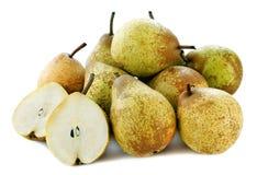 Grupp av pears Royaltyfria Foton