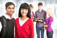 Grupp av studenter Royaltyfri Bild