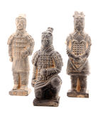 Grupp av terrakottakrigare Arkivfoton