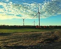 Grupp av turbiner Royaltyfria Bilder