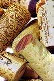 Grupp av vinkorkar. Spanien. Royaltyfri Fotografi