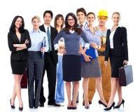 Grupp för affärsfolk. Royaltyfri Foto