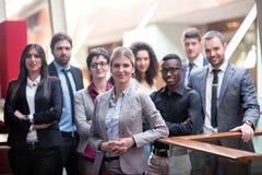 Grupp för affärsfolk arkivbild
