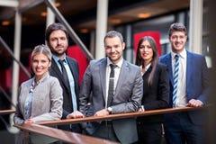 Grupp för affärsfolk arkivbilder