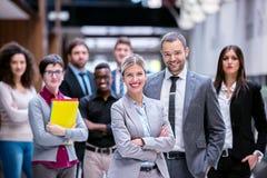 Grupp för affärsfolk royaltyfri bild