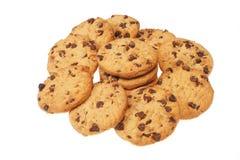 grupp för chipchokladkaka Royaltyfria Foton