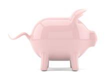 grupp isolerad piggy rosa white stock illustrationer
