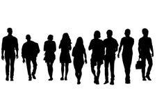 Grupp människor en Royaltyfria Foton