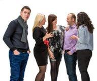 Grupp människor Royaltyfria Foton