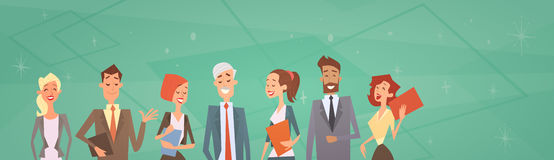 Grupp Team Human Resources Colleagues för affärsfolk Arkivfoto