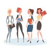 Grupp Team Human Resources Colleagues för affärskvinna Royaltyfri Bild