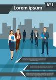 Grupp Team Human Resources för affärsfolk Royaltyfri Bild